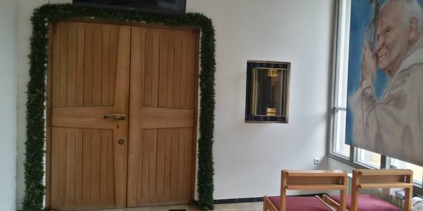 Hl. Pforte in der Kapelle Regina Pacis